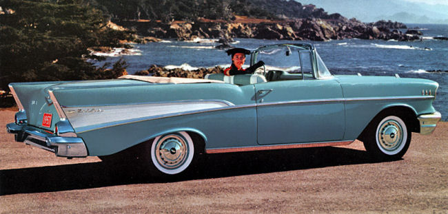 The 57 Bel Air Chevy S Chrome Crusted Icon Of America S