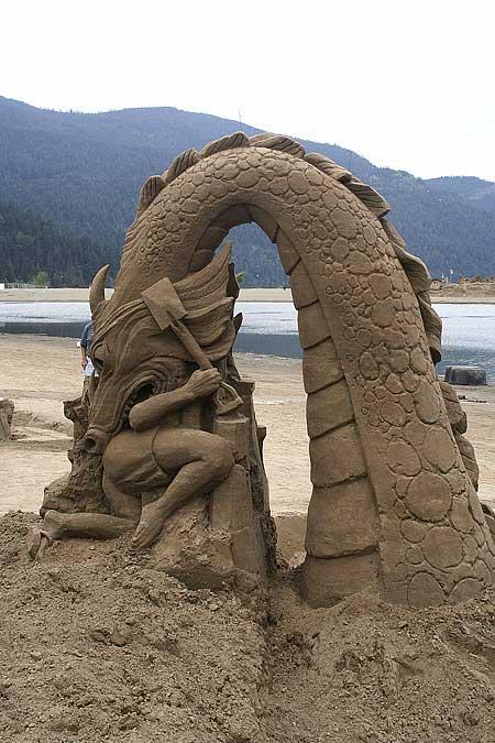 Sand Sculptures Clearwater Beach